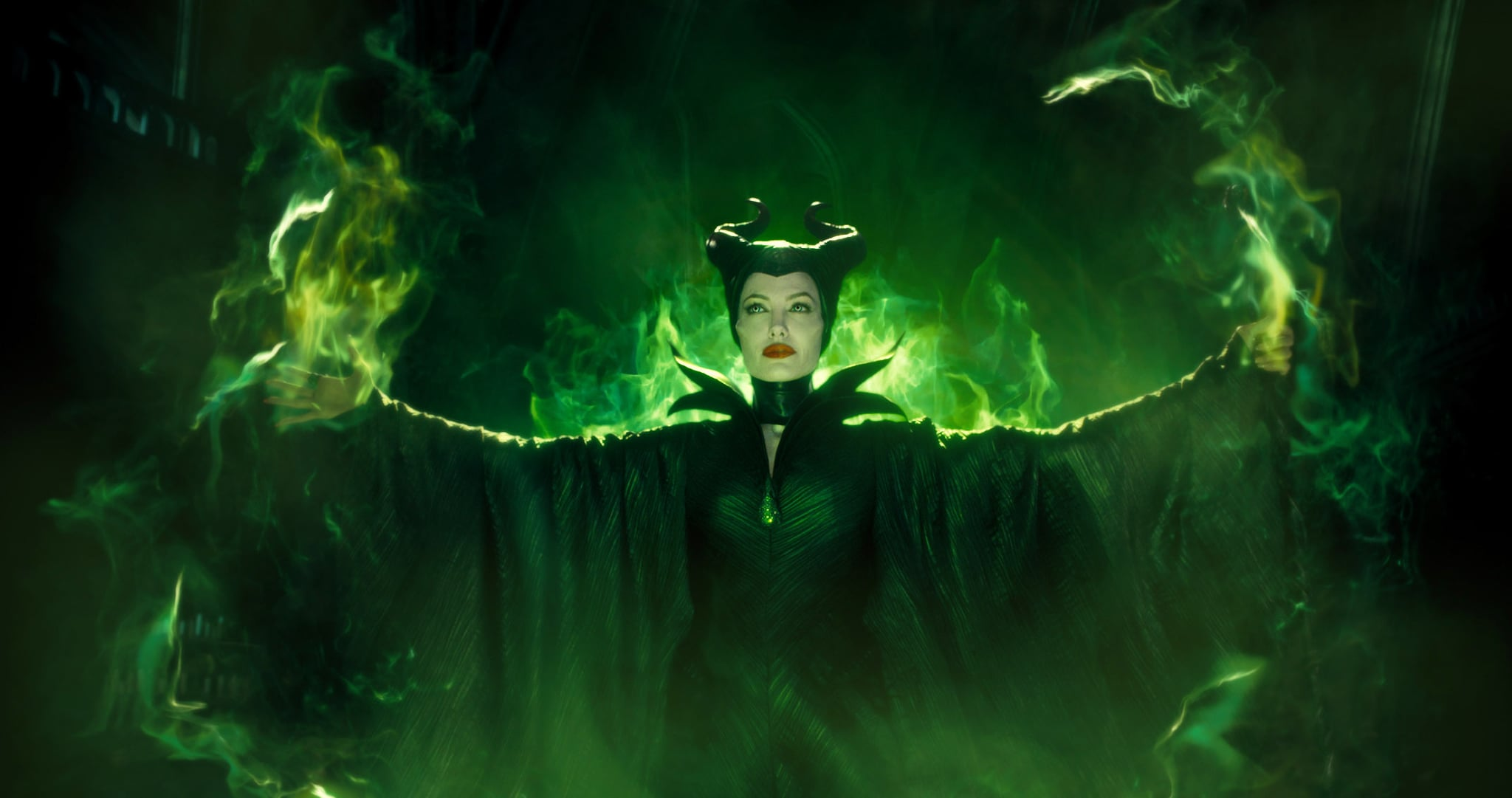 MALEFICENT, Angelina Jolie as Maleficent, 2014. Walt Disney Studios Motion Pictures/courtesy Everett Collection