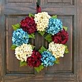 Patriotic Front Door Wreath