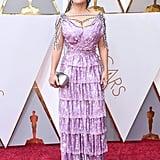 Salma Hayek at the 2018 Academy Awards