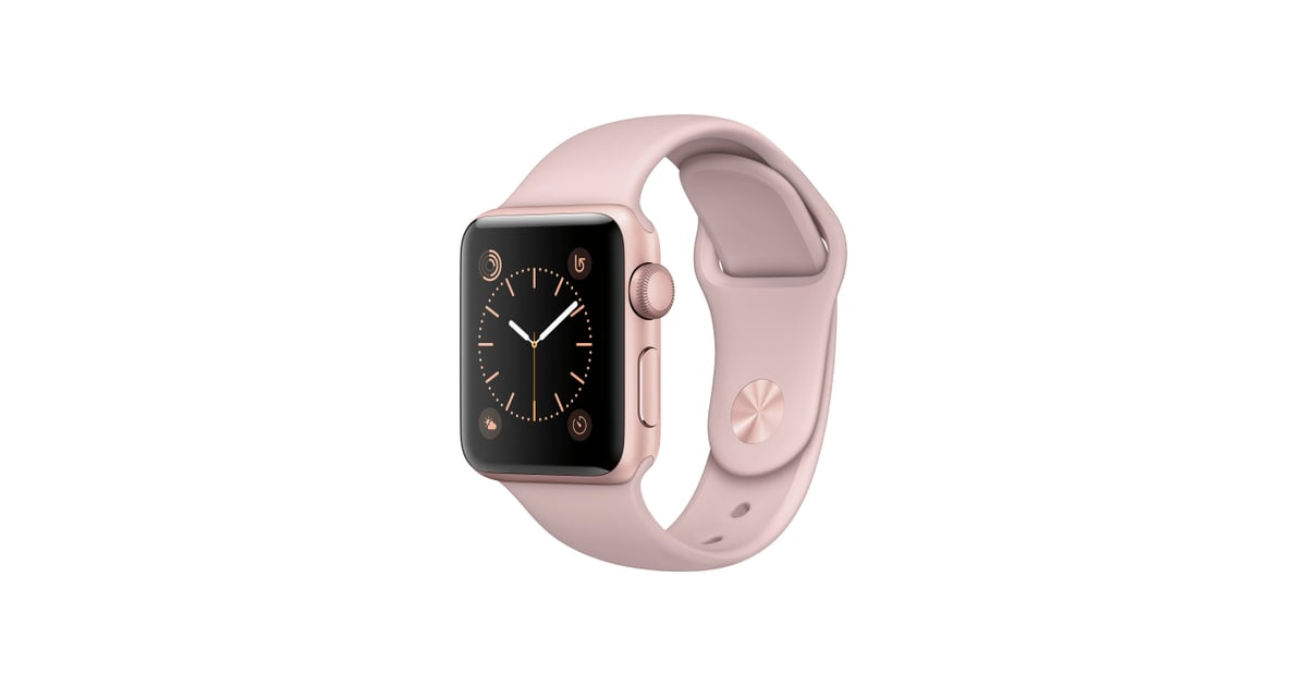 apple watch series 2 38mm rose gold aluminum case with