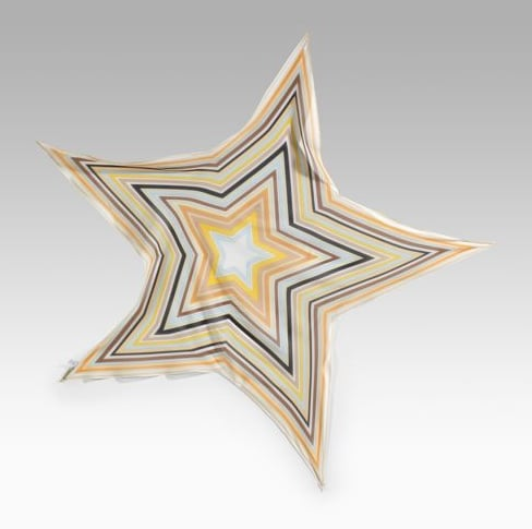 Emilio Pucci Striped Star Scarf: Love It or Hate It?