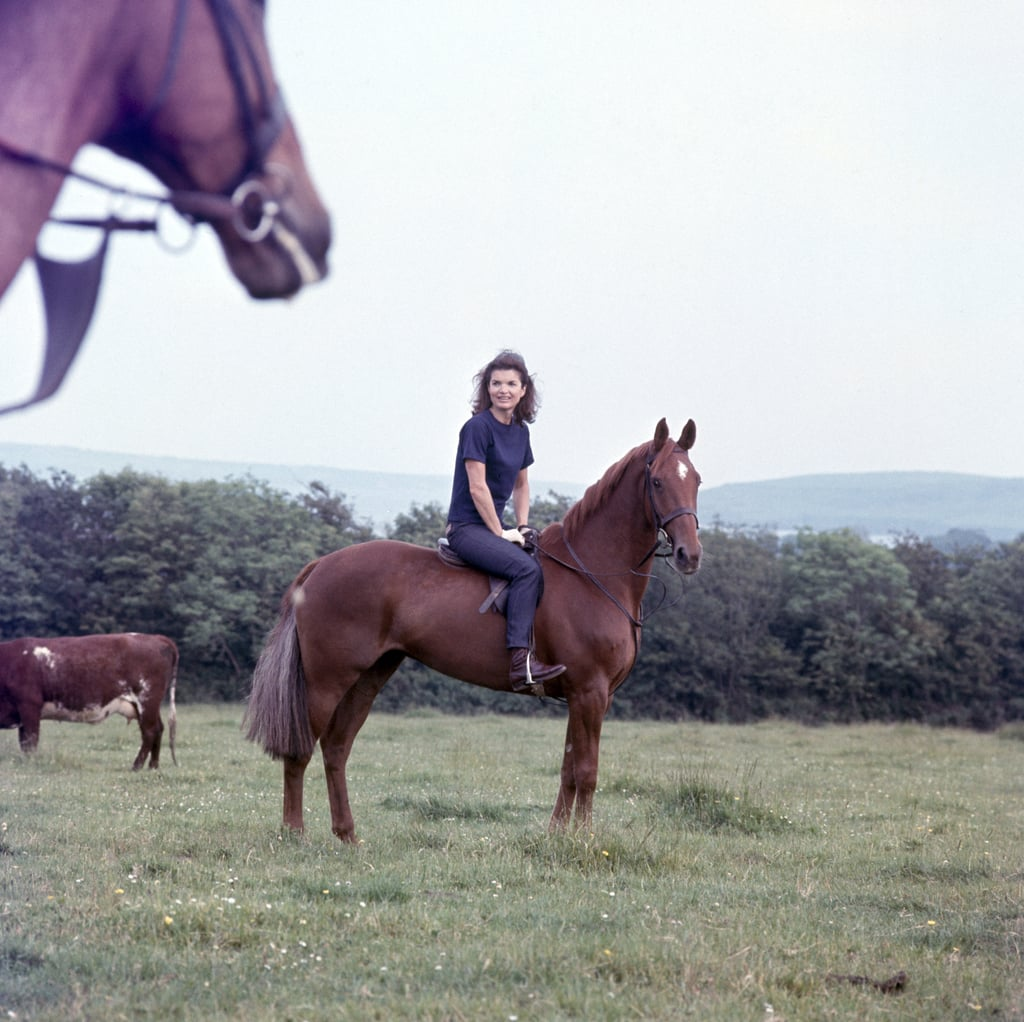 She Was a Talented Equestrienne