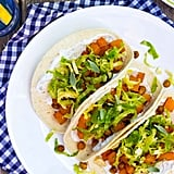 BBQ Cauliflower and Chickpea Tacos With a Creamy Lime Slaw