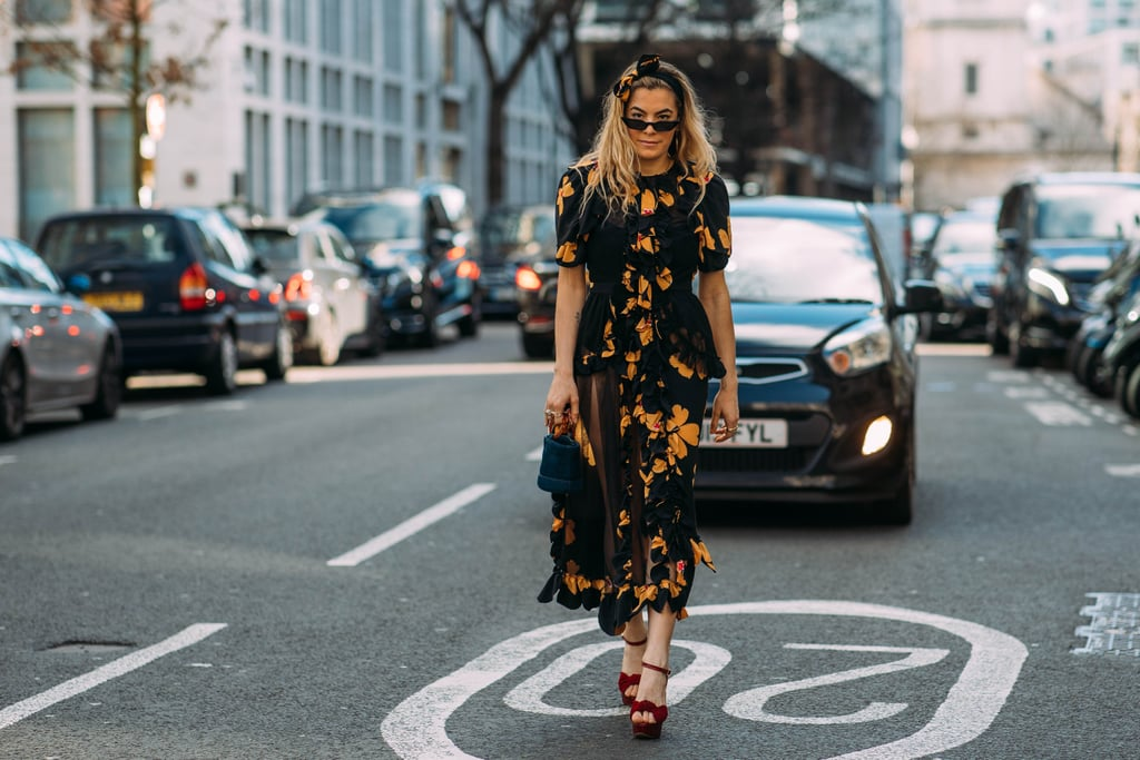 Street Style at London Fashion Week Fall 2018