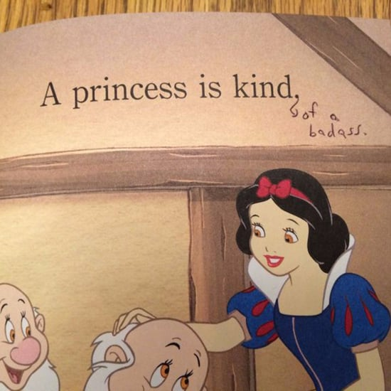 Mom Gives Disney Princess Book Feminist Upgrade