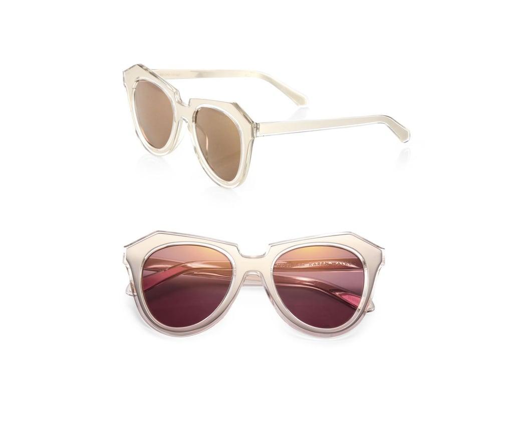 Karen Walker Cat-Eye Sunglasses