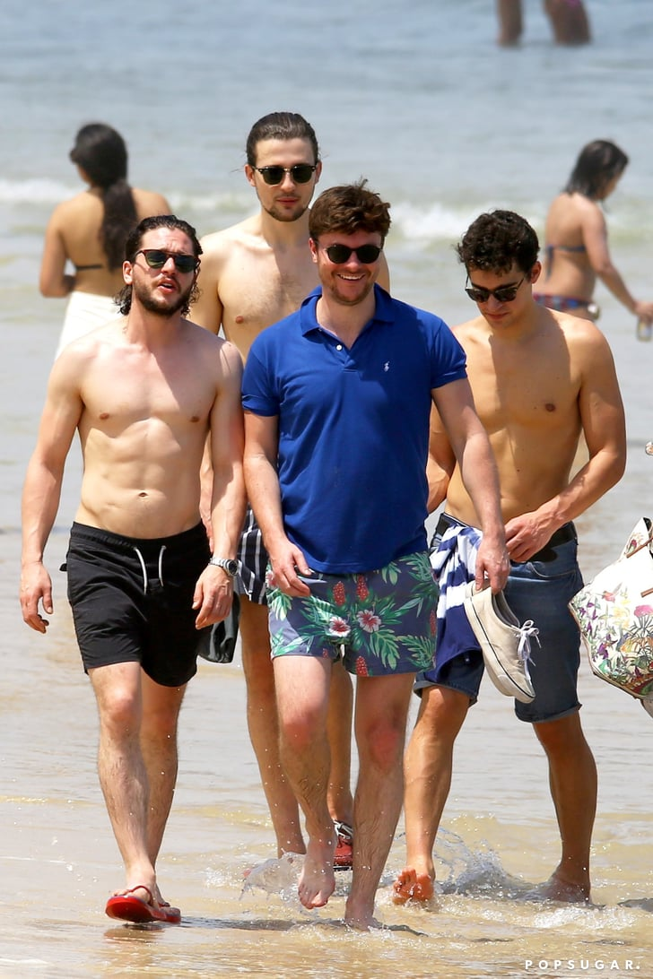 Kit Harington Shirtless On The Beach In Brazil Pictures  Popsugar Celebrity Photo 8-1248
