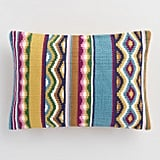 Multicolored Catalina Stripe Indoor Outdoor Throw Pillow