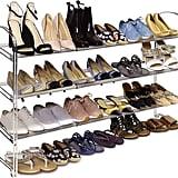 Seville Classics 3-Tier Expandable Shoe Rack