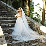Caroline Wozniacki's Oscar de la Renta Wedding Dress