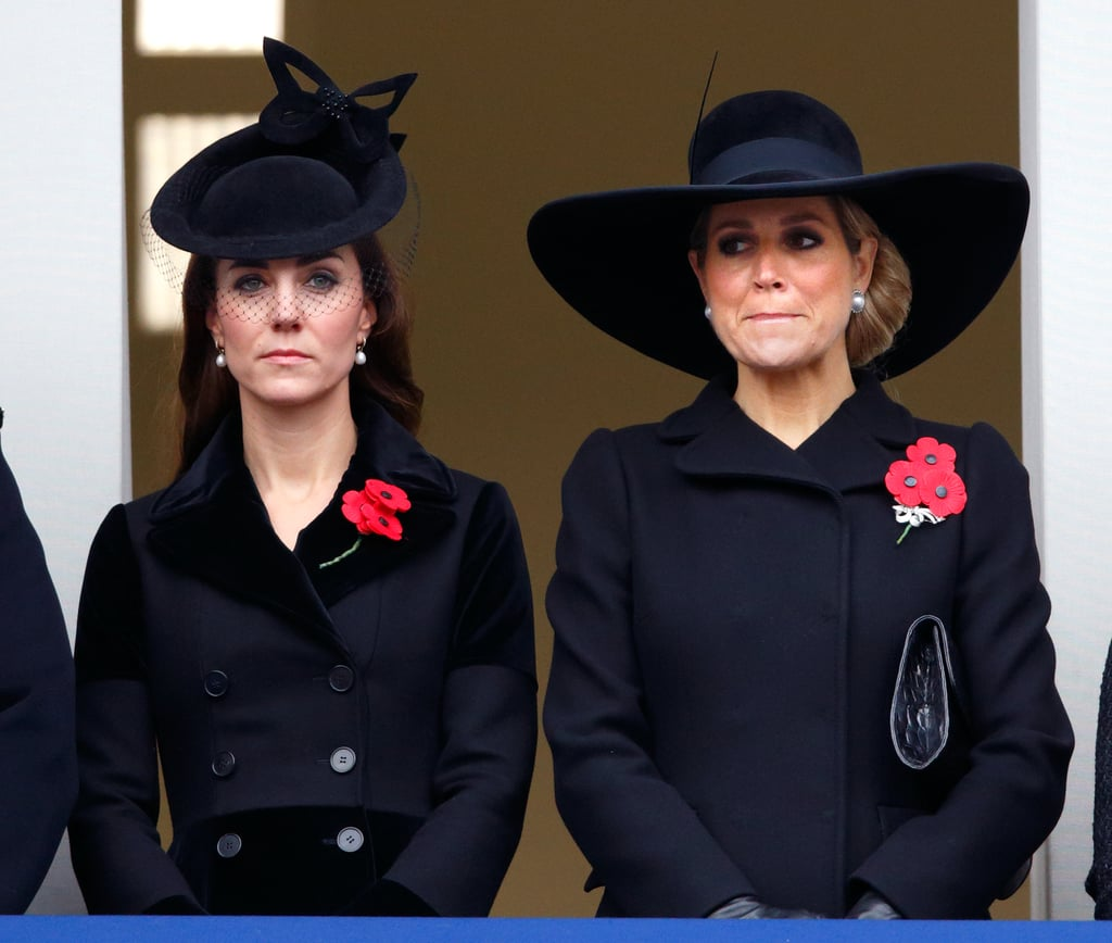 The Duchess of Cambridge at the Annual Remembrance Sunday Service in 2015