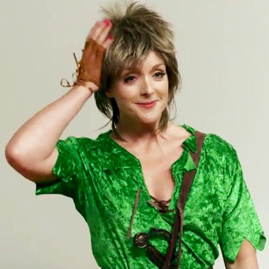 Jane Krakowski's Peter Pan Live Audition Tape