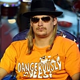 Kid Rock wore a Cheetos t-shirt for his TRL appearance in 2001.
