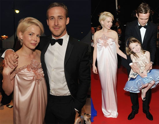 Pictures of Ryan Gosling and Michelle Williams Holding Hands at Blue Valentine Cannes Premiere