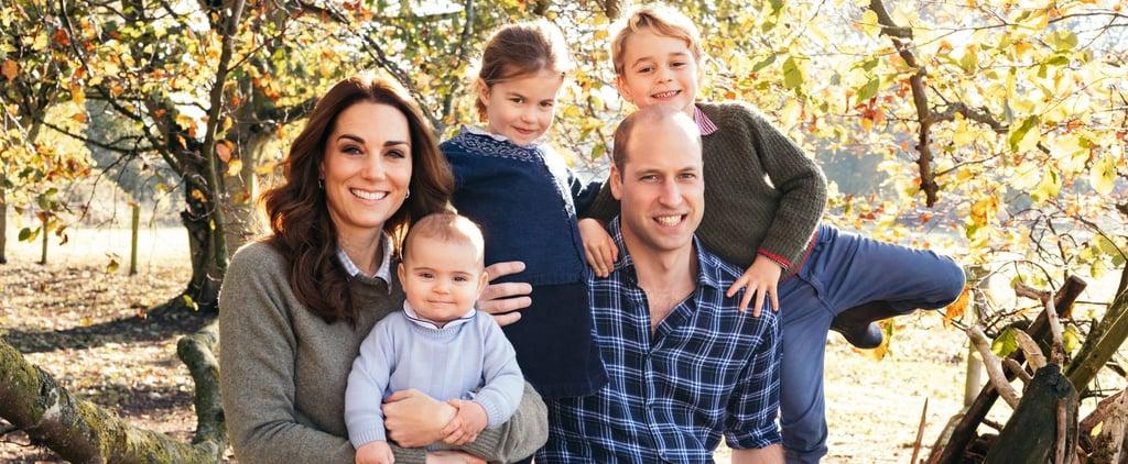 بطاقات أعياد العائلة الملكية البريطانية في الميلاد 2018
