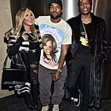Lil' Kim, Kanye West, and ASAP Rocky.