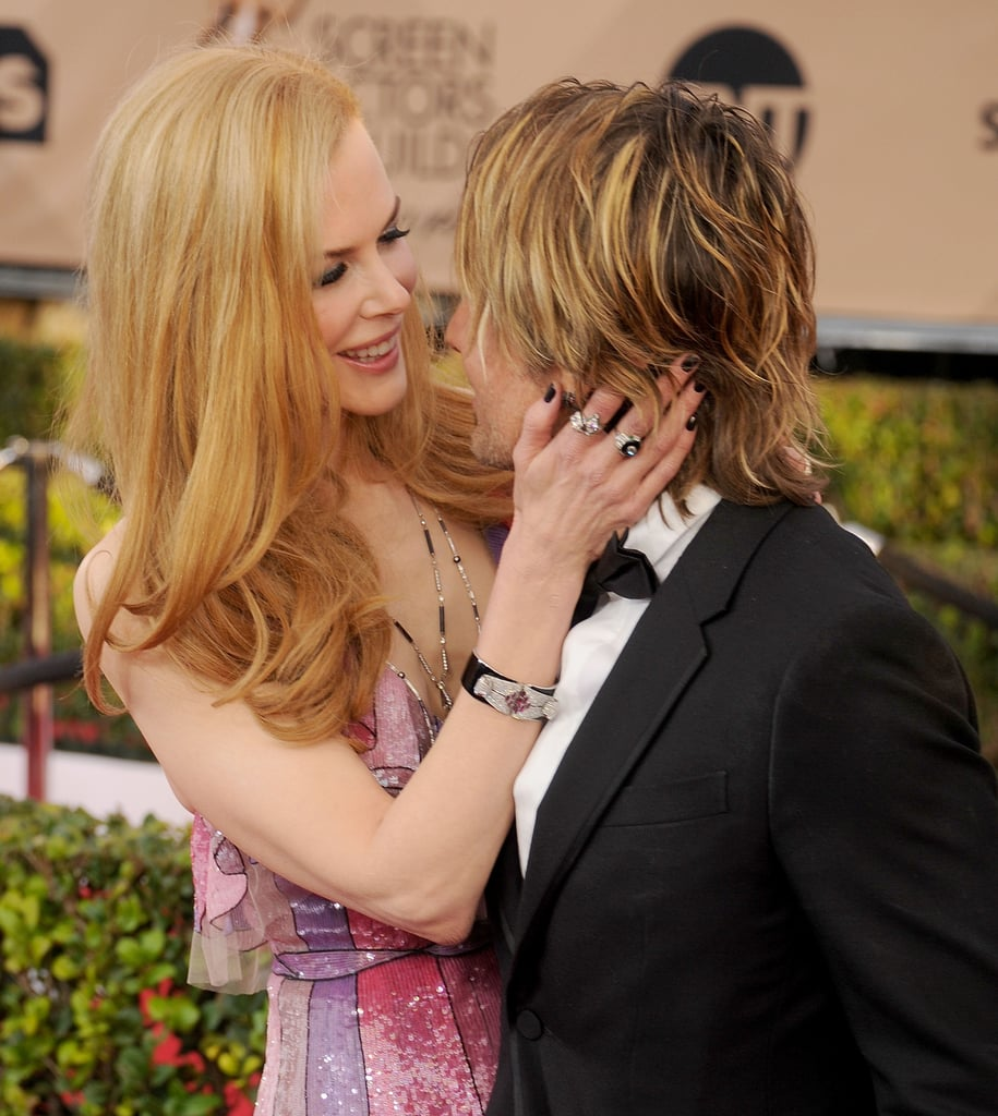 In 2016, Keith Urban and Nicole Kidman had the look of love on the red carpet.