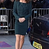 Kate held on to an elegant clutch and finished her outfit with Episode pumps — the same pair she wore in 2012.