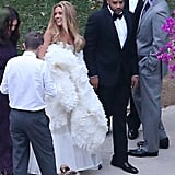 Jessica Simpson at CaCee Cobb's Wedding Pictures