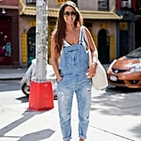 Proof that you can totally wear overalls and look this adorable. Source: Joy Jacobs Photography
