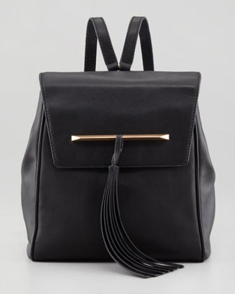 Not only is Brian Atwood's Juliette Small Leather Backpack ($350) for its quality and modern spirit. — Justin Fenner, associate editor