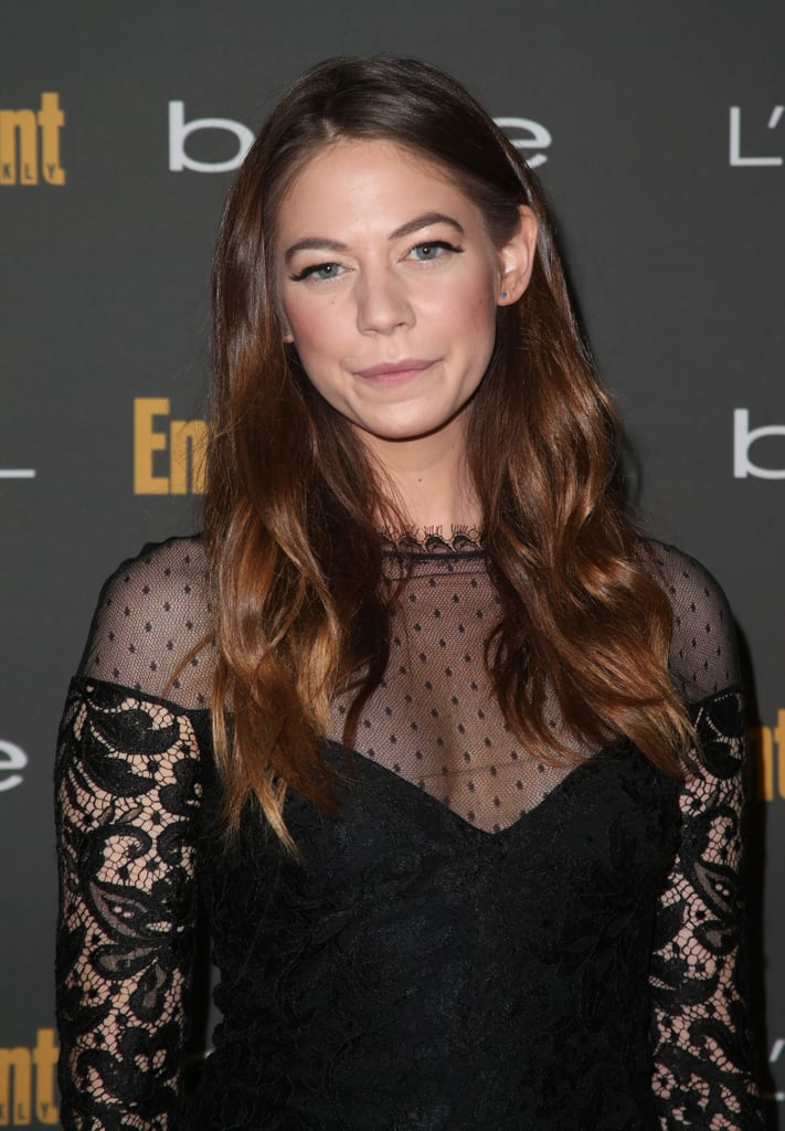 Beachy waves and bold brows looked great on Analeigh Tipton at Entertainment Weekly's pre-Emmys party.