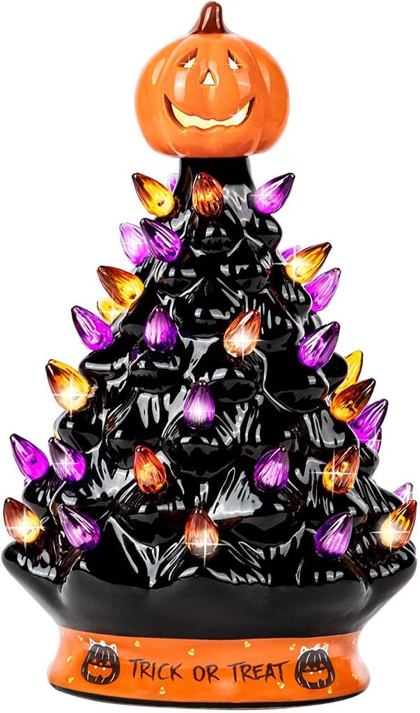 RJ Legend Halloween Decorations Ceramic Tree