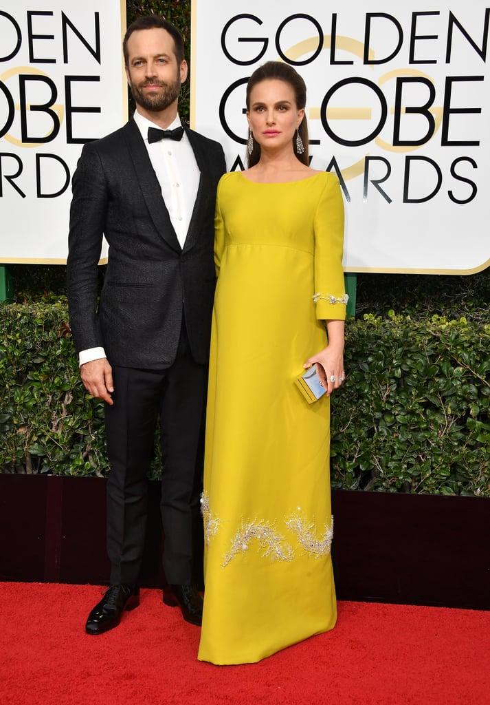 Natalie Portman Walked the Red Carpet With Husband Benjamin Millepied