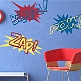Superhero Decal Set