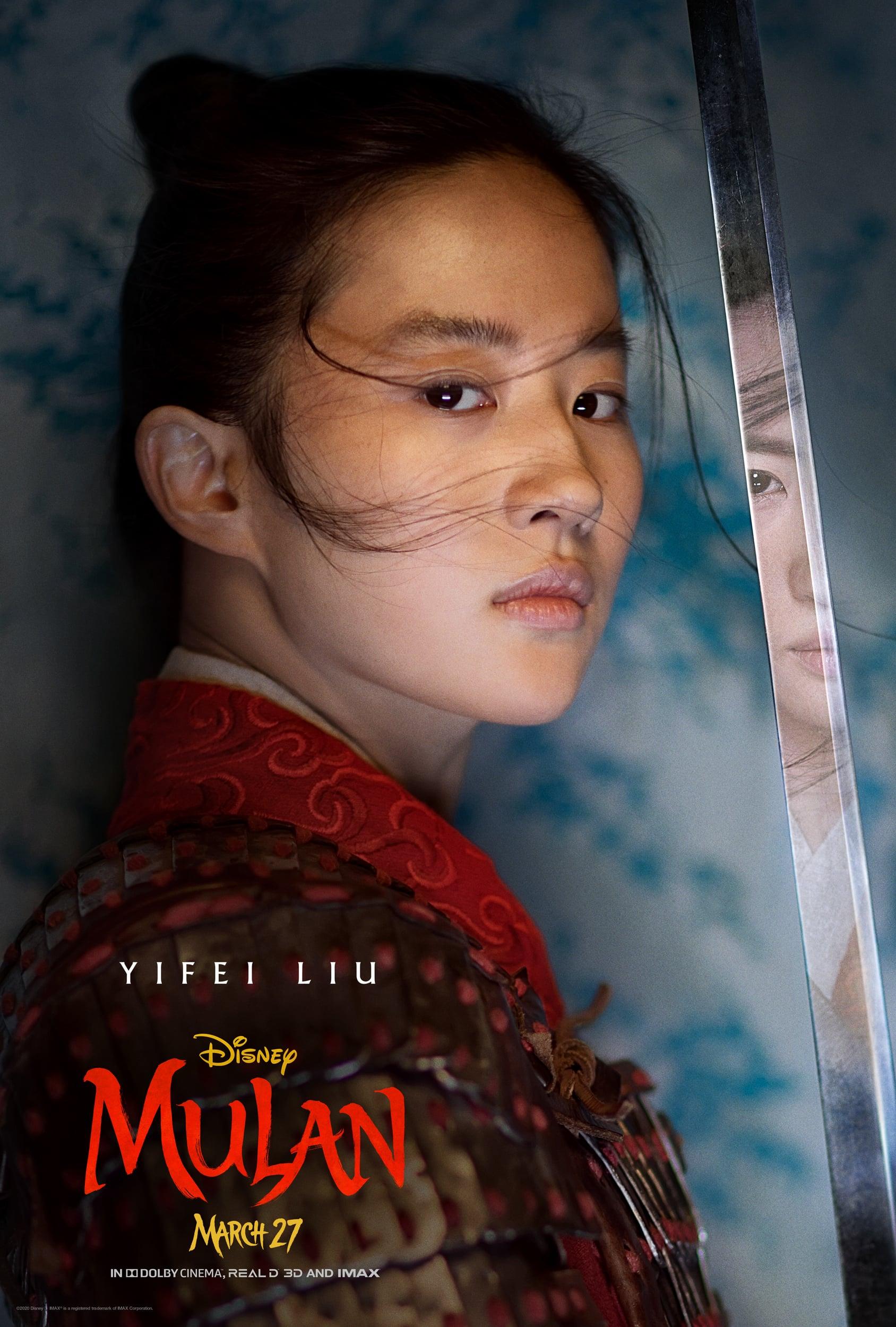 Disney S Live Action Mulan Character Posters Popsugar Entertainment