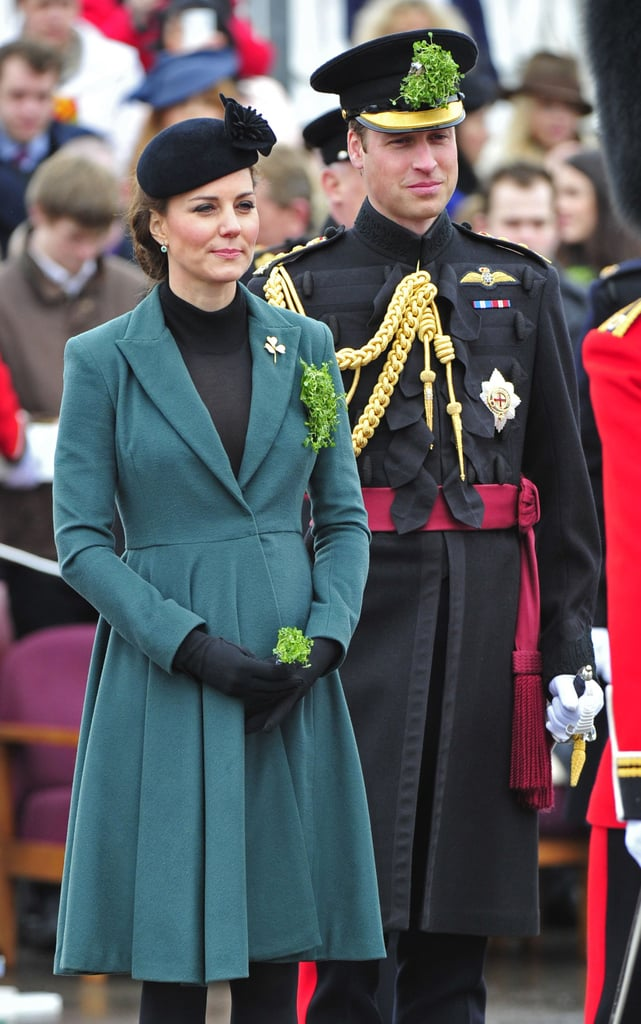 Kate Middleton Says She's Hoping For a Boy at St. Patrick's Day Event