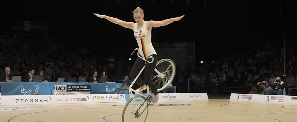 Watch Viola Brand's Amazing 2017 Artistic Cycling Routine