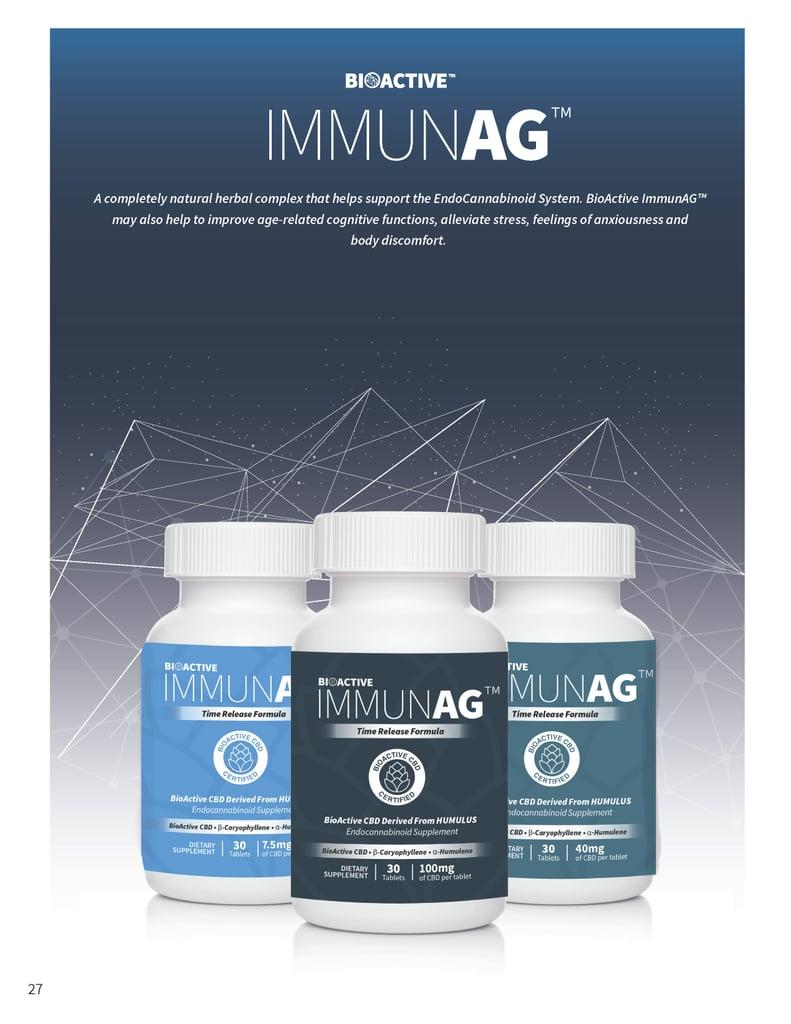 Bioactive ImmunAG