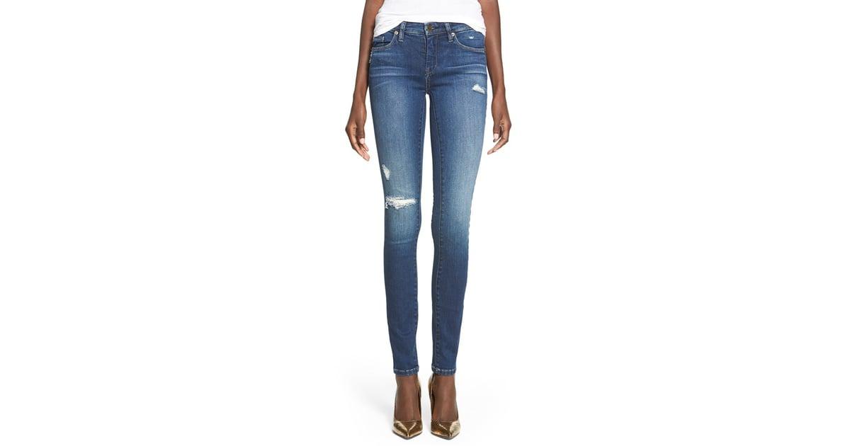 313538f3247cbe Blank NYC Hotel Distressed Skinny Jeans ($88) | Olivia Palermo ...