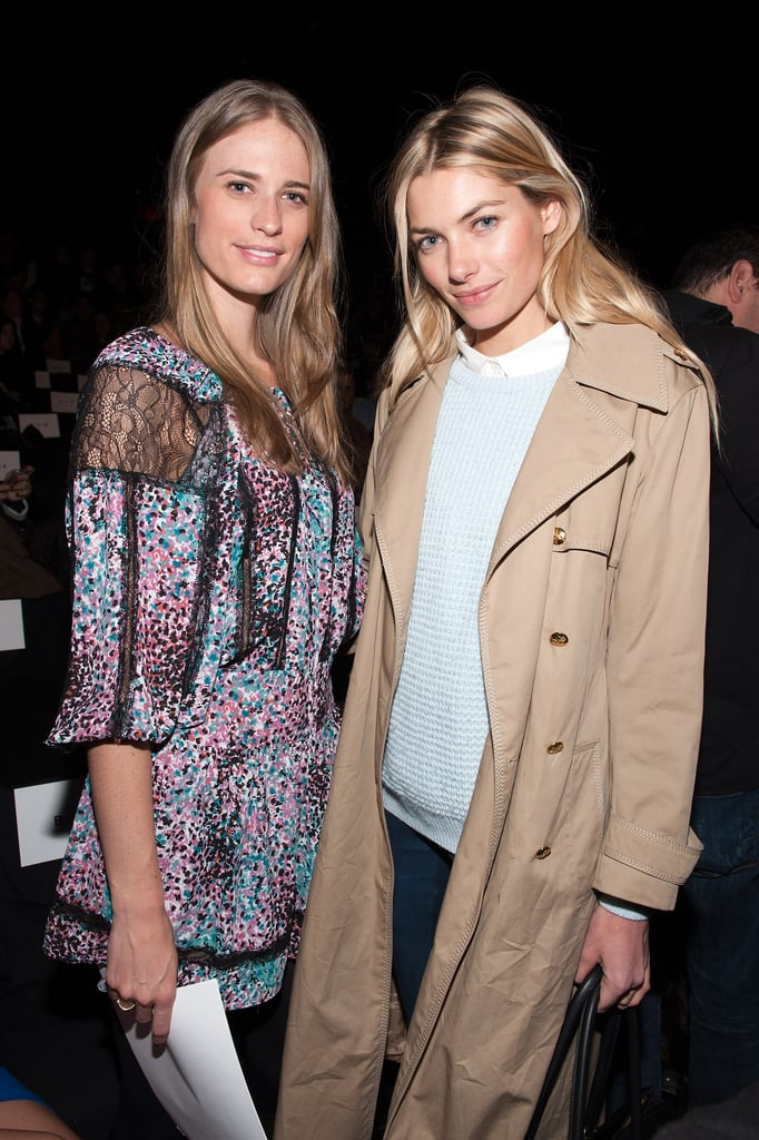 Julie Henderson and Jessica Hart