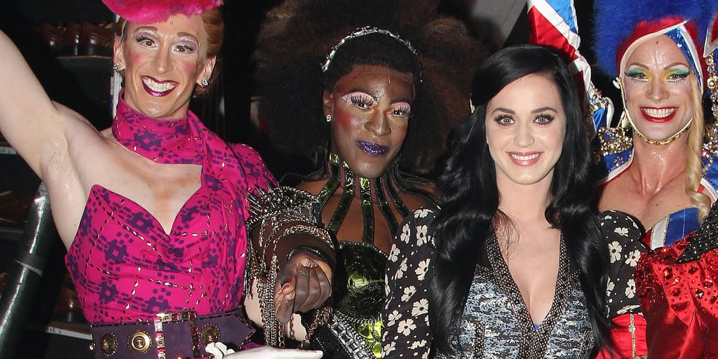 Katy Perry at Kinky Boots Broadway Show