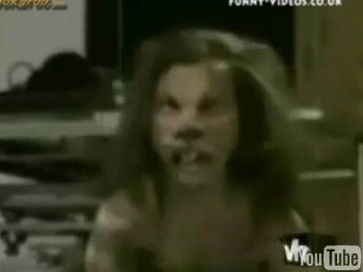 Scare Tactics' Classic Mutant Rat Boy Prank