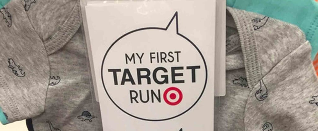 My First Target Run Stickers For Babies