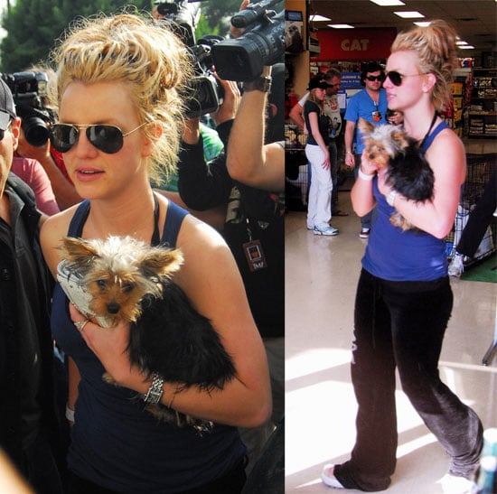 Britney and London's Saturday Around Town