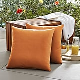 McMillian Square Knife Edge Indoor/Outdoor Throw Pillows