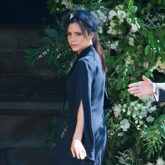 Victoria Beckham Dress at Royal Wedding 2018