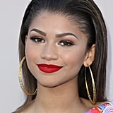 Zendaya's Red Lipstick at a BET Awards Dinner in 2014
