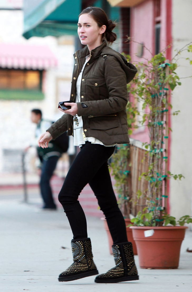 Pictures of Megan Fox and Kassius Green Stopping For Lunch at an Organic Cafe