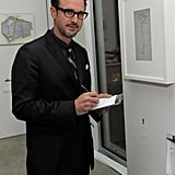 David Arquette Preps For His Oprah Interview at an Artful Event With Scarlett, Anna, and Justin