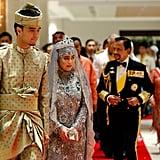 Princess Hajah Hafiza Sururul Bolkiah and Pengiran Haji Muhammad Ruzaini