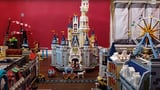 Dad Builds Miniature Lego Disneyland Theme Park | Video