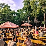 When you think of Berlin, chances are refreshing pints of frothy beer come to mind. If so, be sure not to miss Prater, the city's oldest active biergarten. Located in the heart of Prenzlauer Berg, this seasonal, self-service outdoor area is the perfect place for locally brewed beers.  The atmosphere is fun and upbeat. The beer is delicious. And with over 600 seats under shady chestnut trees, there's plenty of space to sit and unwind!