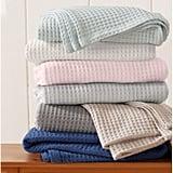 Bonner Waffle Weave Cotton Blanket