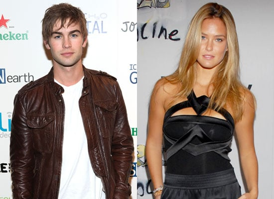Photos of Chace Crawford and Bar Refaeli