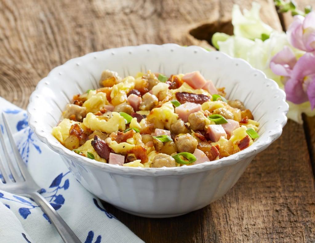 Ree Drummond's Meaty Breakfast Bowl ($3)